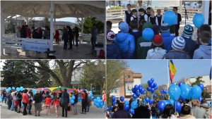 World Awereness day Autism in Tg.Frumos-Romania and Bălti-Moldova