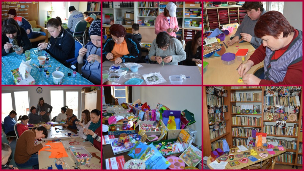 Creative workshops for special families in Strunga